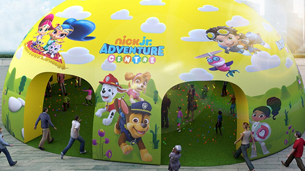 Nick Jr & Nickelodeon Consumer Products launch the Nick Jr Adventure Centre