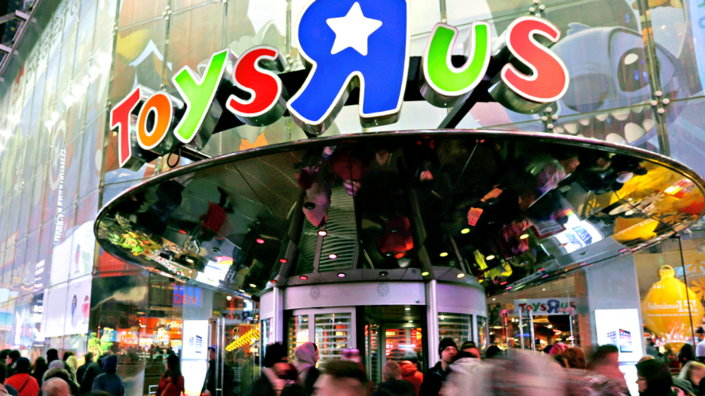 Toys R Us shuts down its last store