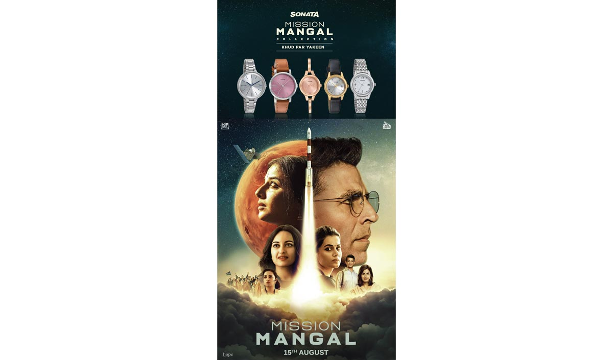 Sonata launches 'Mission Mangal' range
