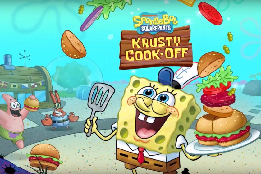 Nickelodeon Launches 'SPONGEBOB: KRUSTY COOK-OFF'