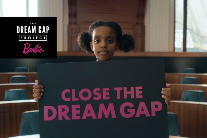 BARBIE DREAM GAP PROJECT TEAMS WITH GOFUNDME FOR ANNIVERSARY