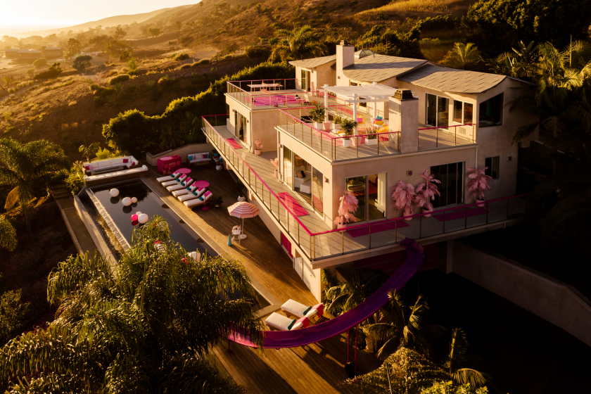 BARBIE PUTS MALIBU DREAM HOUSE ON AIRBNB
