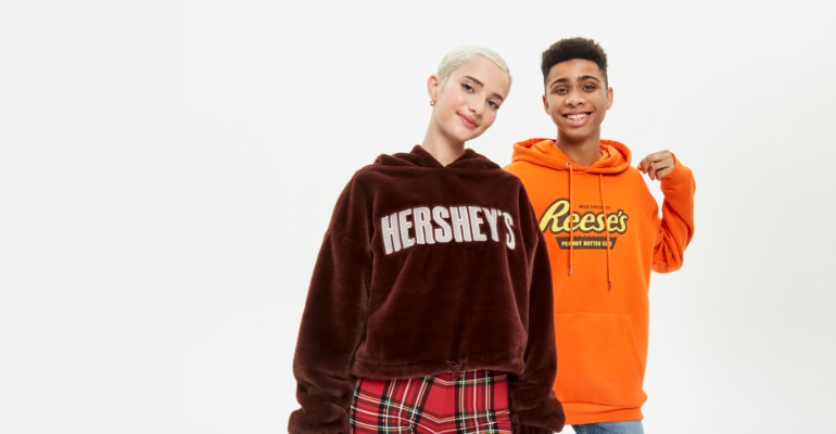 Forever 21 launches capsule collection with The Hershey Company