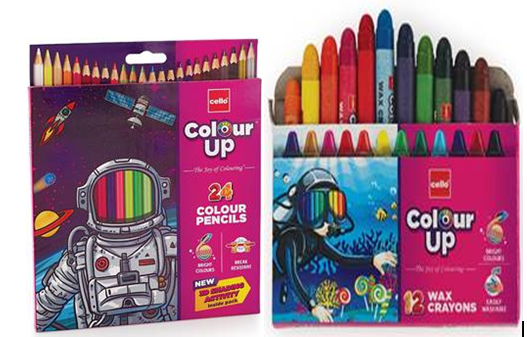 BIC Cello Launches ColourUP