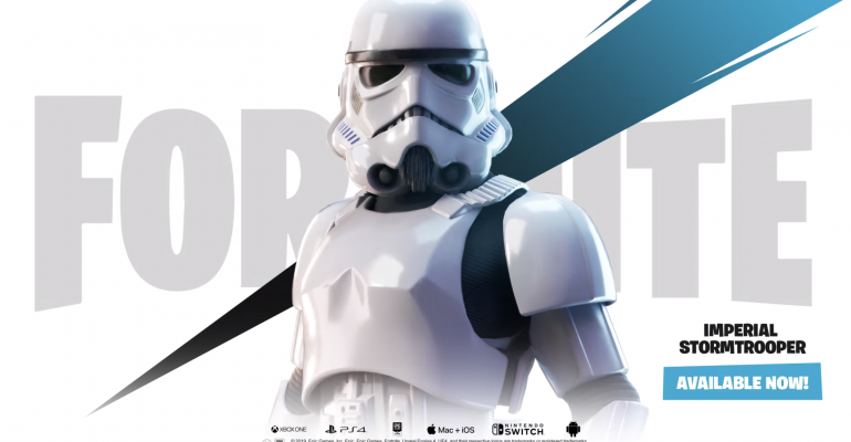 'Fortnite' Brings Stormtroopers to the Frontline