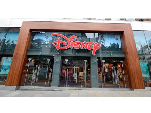 Flagship Disney store in London