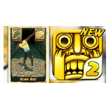 Usain Bolt sprints for Temple Run 2
