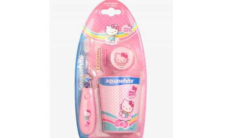 Aquawhite launches 'Peppa Pig' & 'Hello Kitty' range of kids oral care products