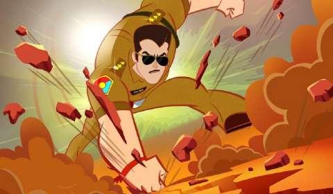 Adapting the blockbuster franchise 'Dabangg' into an Animated Series