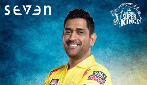 SEVEN becomes Official Merchandising Partner of The Champions from Chepauk: Chennai Super Kings