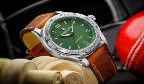 Bangalore Watch Company's new collection pays tribute to Indian Cricket