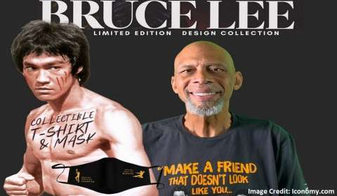 Kareem Abdul-Jabbar, Bruce Lee Collaborate to Launch New Apparel Brand