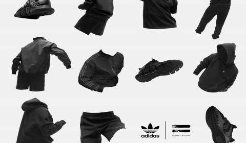 adidas, Pharrell Williams Launch Collaborative Pharrell Williams Triple Black Collection