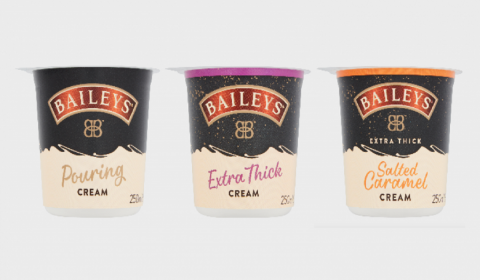 Arla, Diageo Partner For Another Baileys Cream Range
