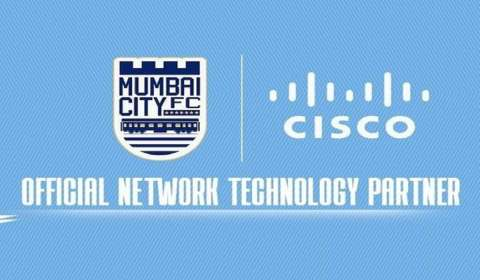 Cisco Becomes Mumbai City Football Club's Official Network Technology Partner