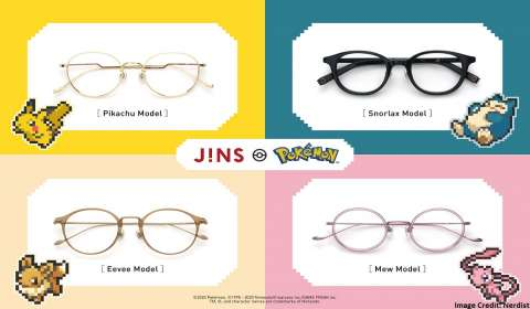 Pokémon-Themed Eyewear Coming To JINS