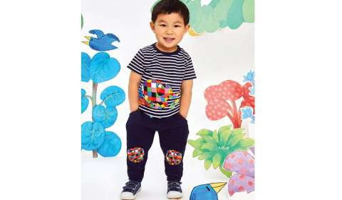 JoJo Maman Bebe Brings New Elmer Collection