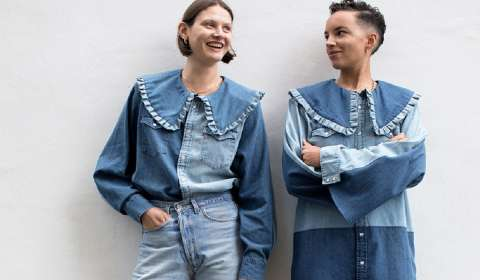 Levi's Ties Up with Ganni for Sustainable Collaboration
