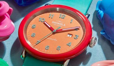 Crayola, Shinola Partner for Silly Putty Watch Line