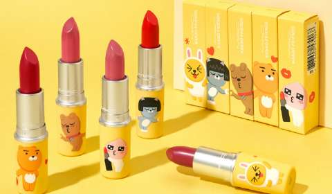 M.A.C., Kakao Friends Tie Up for Cosmetics Collaboration