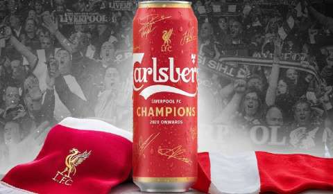 Carlsberg, Liverpool FC Launch Limited-Edition 'Champions' Cans