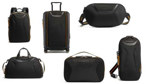 TUMI launches premium capsule luggage and travel collection in collaboration with McLaren