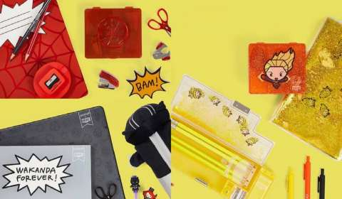 Yoobi, Marvel Collaborate for Super-Powered Collection of Back-To-School Essentials
