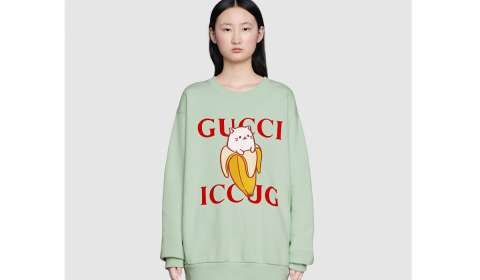 Gucci, Crunchyroll Collaborate on Special Bananya Collection