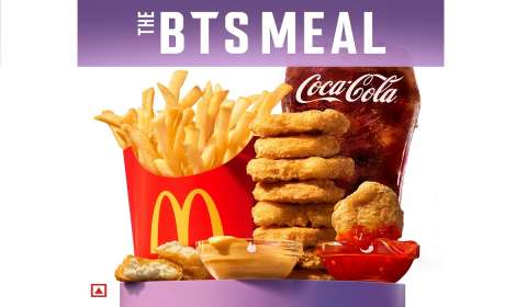 McDonald's x BTS Collaboration Kicks Off with Exclusive Merch Drop