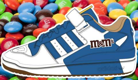 Adidas, M&Ms Tie Up to Launch New Sneakers Line