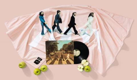 Slowtide, The Beatles Partner on a Limited Edition Towel and Blanket Drop