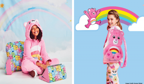 Iscream Brings Collection of Care Bears-Licensed Lifestyle Products