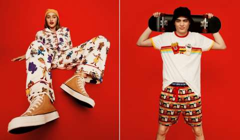 McDonald's, Peter Alexander Launch Limited-Edition Pajamas Range