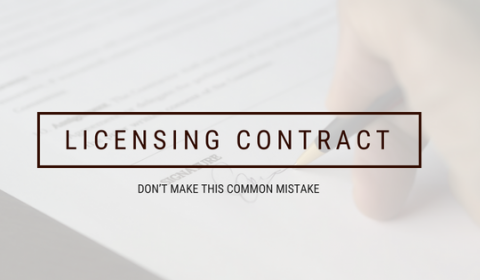 FIVE COMMON BRAND LICENSING MISTAKES