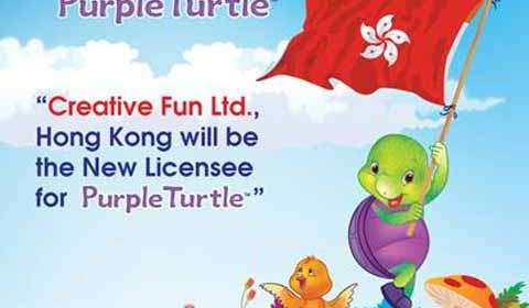 Creative Fun Ltd, HK inks pact for Purple Turtle