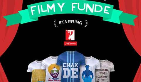 Best of YRF Blockbuster with FREECULTR Express Tee