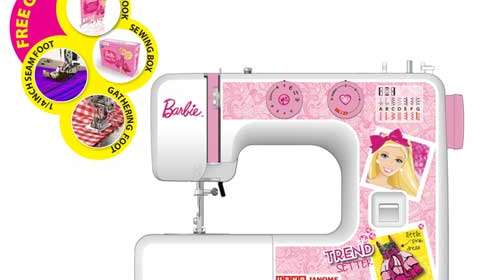 Usha launches India's first Barbie sewing machine