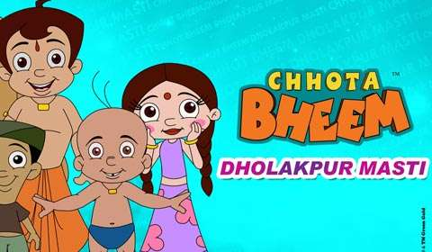 Dorling Kindersley sets pages for Green Gold's Chhota Bheem