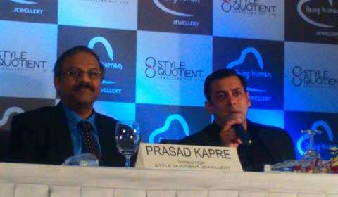 Salman's Being Human foundation forays into jewellery segment with Style Quotient