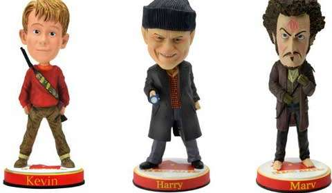 Bobbleheads for Home Alone characters