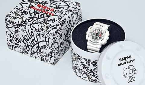 Casio debuts Hello Kitty-inspired watch