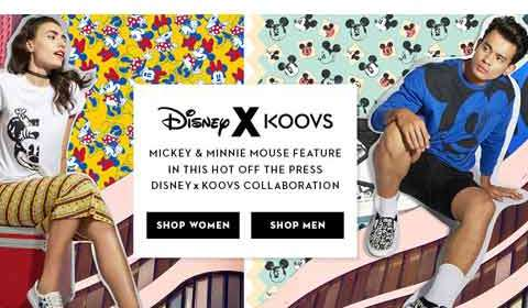 Koovs launches Disney collection