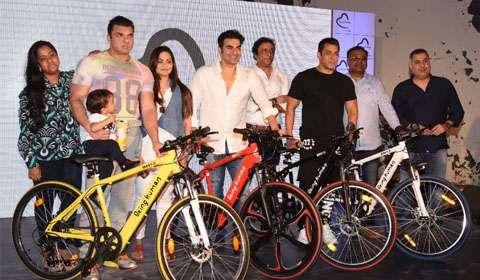 Salman Khan's Being Human forays into e-cycles