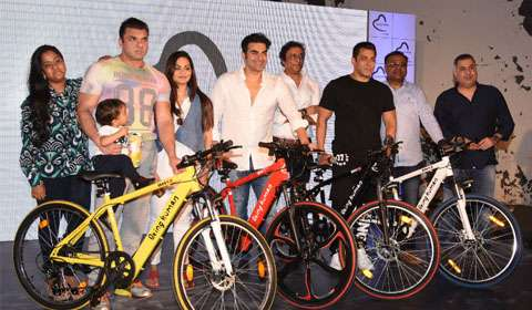 Salman Khan veers into electric cycle segment with Being Human