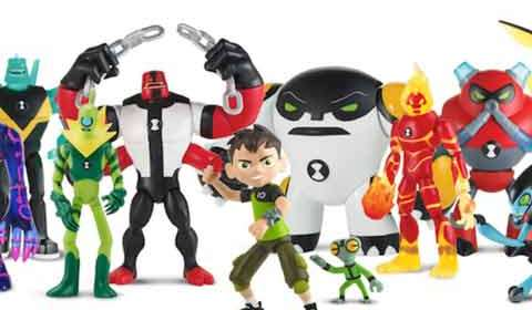 Playmates launches Ben 10 inspired toys