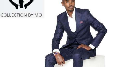 Sir Mo Farah launches new suit collection