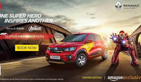 Renault launch KWID super hero edition with Marvel's Avengers