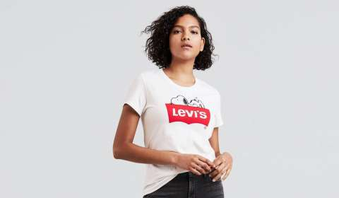 Snoopy teams with Levi's