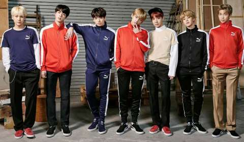 Puma & BTS launch new sportstyle campaigns