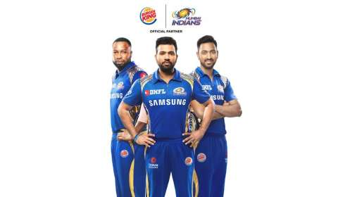 BURGER KING® hops on IPL bandwagon with Mumbai Indians